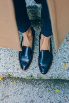 Loafers and Mules and Jacket